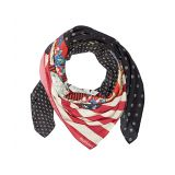 Polo Ralph Lauren Printed Patchwork Scarf