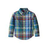 Polo Ralph Lauren Kids Long Sleeve Button-Down Shirt (Toddler)