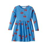 Mini rodini Cherry Long Sleeve Dress (Infant/Toddler/Little Kids/Big Kids)