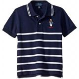 Polo Ralph Lauren Kids Captain Bear Cotton Mesh Polo (Toddler)