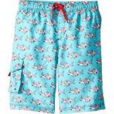 Hatley Kids Snorkeling Sharks Board Shorts (Toddler/Little Kids/Big Kids)