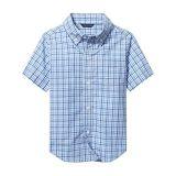 Janie and Jack Gingham Button-Up Shirt (Toddleru002FLittle Kidsu002FBig Kids)