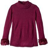 Fur Trim Sweater (Toddler/Little Kids/Big Kids)
