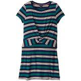 Tommy Hilfiger Kids Short Sleeve Tie Front Dress (Big Kids)