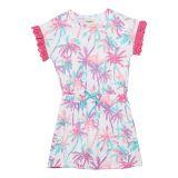 Hatley Kids Island Palms Cinched Waist Dress (Toddleru002FLittle Kidsu002FBig Kids)