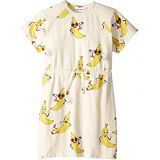 Mini rodini Banana All Over Print Dress (Infant/Toddler/Little Kids/Big Kids)