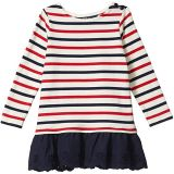 Striped Cotton Jersey Dress (Toddler)