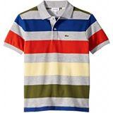 Lacoste Kids Colorful Striped Pique Polo (Infant/Toddler/Little Kids/Big Kids)