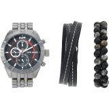 Watch and Strand Beaded Bracelet Set SMWS037