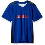 Adidas adidas Boys Short Sleeve Moisture-Wicking Training T-Shirt