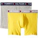 Tommy+Hilfiger Tommy Hilfiger Mens Bold Cotton 2-Pack Boxer Brief