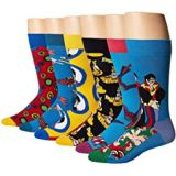 Happy Socks Beatles 50th Anniversary LP Collectors Box 6-Pack