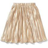 x Rachel Zoe Gold Pleated Maxi Skirt (Little Kids/Big Kids)