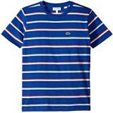 Lacoste Kids Summer Lover Striped Tee Shirt (Toddler/Little Kids/Big Kids)