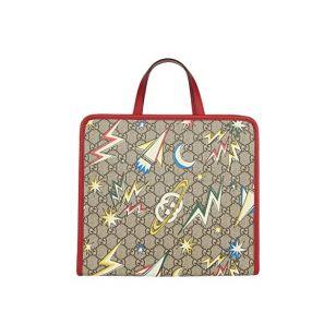 Gucci Kids GG Space Camp Tote Bag (Little Kidsu002FBig Kids)