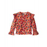 Stella McCartney Kids Geometric Print Long Sleeve Blouse (Little Kids/Big Kids)