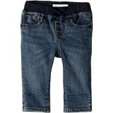 Burberry Kids Pullon Jean Shorts in Mid Indigo (Infant/Toddler)