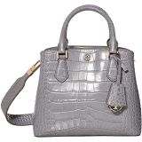 Robinson Embossed Small Triple-Compartment Tote