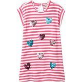 Sweet Hearts Shift Dress (Toddler/Little Kids/Big Kids)