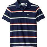 Lacoste Kids Summer Lover Striped Pique Polo (Infant/Toddler/Little Kids/Big Kids)