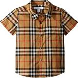 Burberry Kids Fred Short Sleeve Top (Infant/Toddler)