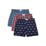 Tommy Hilfiger Cotton Classics 3-Pack Classic Fit Woven Boxer