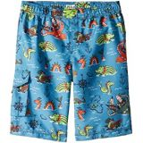 Hatley Kids Sea Monsters Boardshorts (Toddler/Little Kids/Big Kids)
