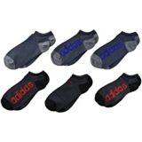 Adidas Kids Superlite Linear No Show Socks 6-Pack (Little Kid/Big Kid/Adult)