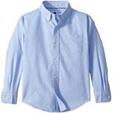 Janie and Jack Long Sleeve Oxford Button-Up Shirt (Toddler/Little Kids/Big Kids)