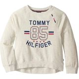 Tommy 85 Crew Cropped Sweatshirt (Big Kids)