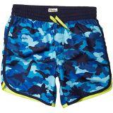 Dino Camo Swim Shorts (Toddler/Little Kids/Big Kids)