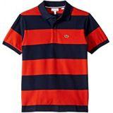 Lacoste Kids Bicolor Striped Pique Polo (Infant/Toddler/Little Kids/Big Kids)