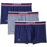 Lacoste 3-Pack Signature Waistband Stripe Trunk