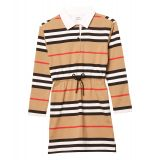 Icon Stripe Rugby Dress (Little Kids/Big Kids)