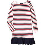 Striped Cotton Jersey Dress (Little Kids/Big Kids)