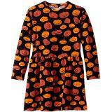 Long Sleeve Pumpkin Dress (Toddler/Little Kids/Big Kids)