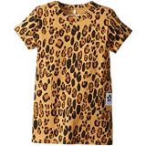Mini rodini Basic Leopard Dress (Infant/Toddler/Little Kids/Big Kids)