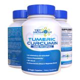 TET METABOLIC RESEARCH Turmeric Curcumin with Black Pepper (Bioperine). Absorption Enhanced...