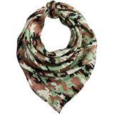 M&F Western Wild Rags Silk Large Patterned Scarf Bandana