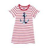 Hatley Kids Flip Sequin Anchor Tee Shirtdress (Toddleru002FLittle Kidsu002FBig Kids)