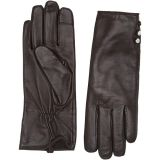 Three-Button Leather Gloves