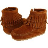 Double Fringe Side Zip Bootie (Infant/Toddler)