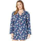 BedHead Pajamas Plus Size Long Sleeve Classic Sleepshirt