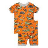 Hatley Kids Aquatic Reptiles Organic Cotton Short Pajama Set (Toddleru002FLittle Kidsu002FBig Kids)