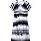 Feminine Capsule Jersey Striped Dress (Toddler/Little Kids/Big Kids)