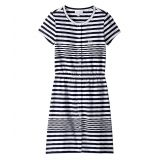Lacoste Kids Feminine Capsule Jersey Striped Dress (Toddler/Little Kids/Big Kids)