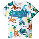 Kenzo Kids All Over Printed Summer Tee (Little Kids)
