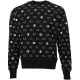 Reverse Weave® Crew - Tossed C Logos All Over Print