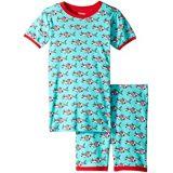 Hatley Kids Snorkeling Sharks Organic Cotton Short Pajama Set (Toddler/Little Kids/Big Kids)