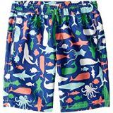 Hatley Kids Sea Creatures Swim Trunks (Toddler/Little Kids/Big Kids)